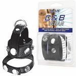 <Blue Line>C●ck Ring With 1Ball Stretcher And Optional Weight Ring(男性器増強グッズ)